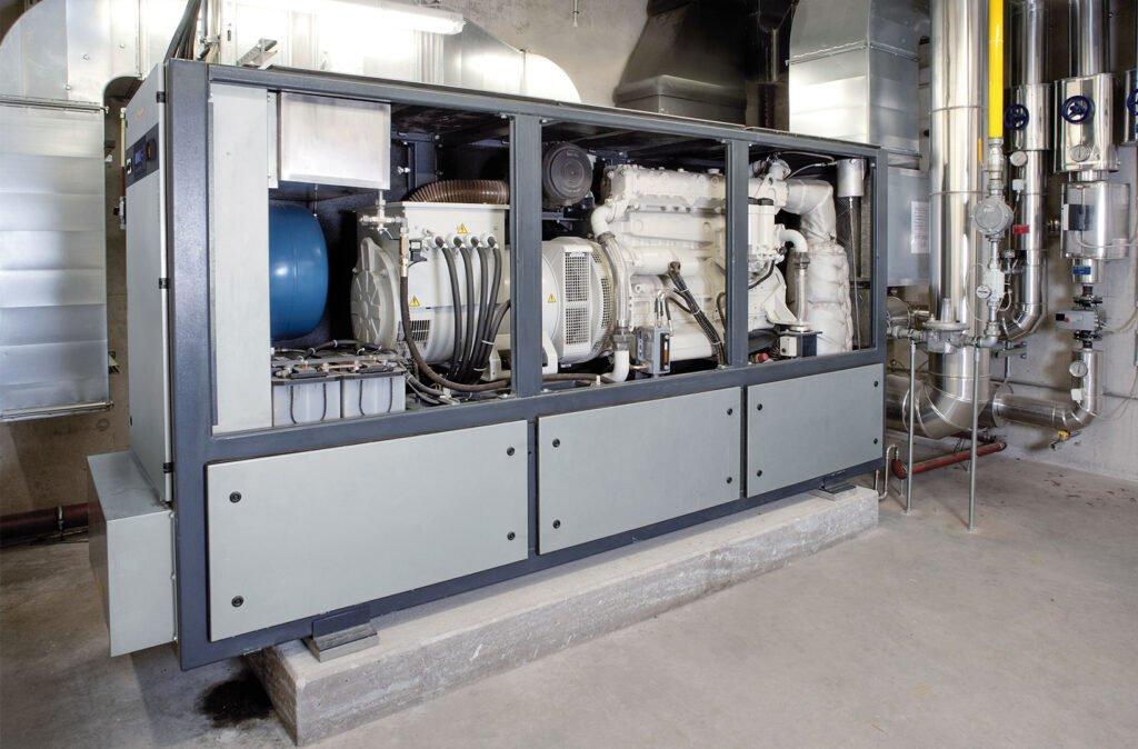 Heizung & Sanitär - Blockheizkraftwerk - 02