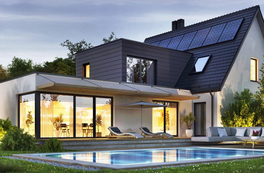 Erneuerbare Energien - Grüne Energie - Photovoltaik